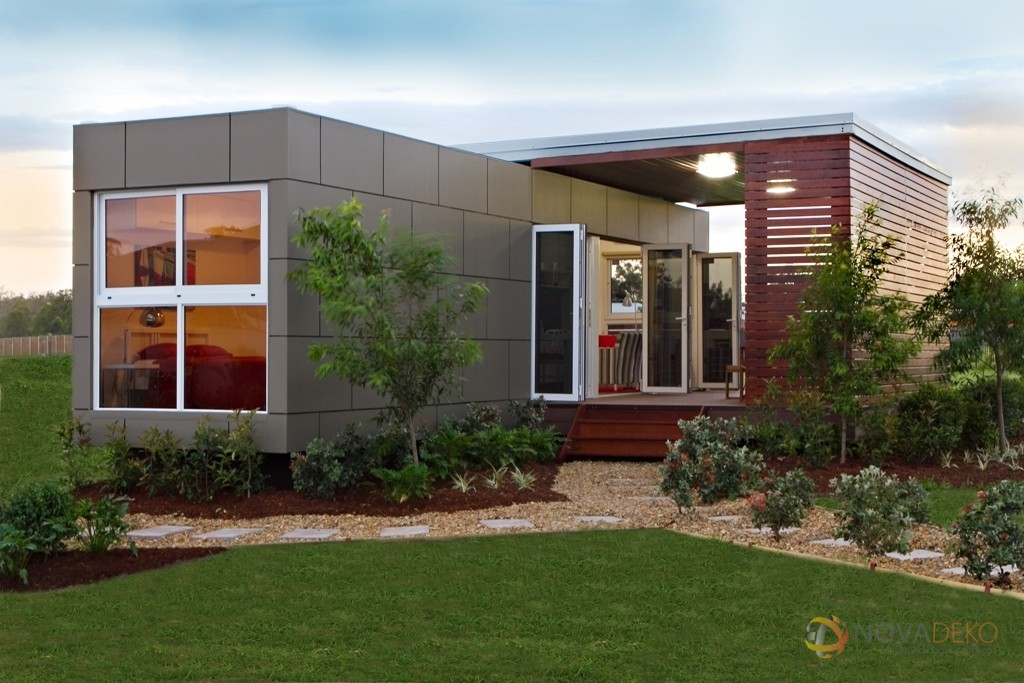 wonderful pre built shipping container homes #5: This steel framed home is delivered complete (excluding kitchen appliances  and hot water system). If the foundations and services are in place, ...