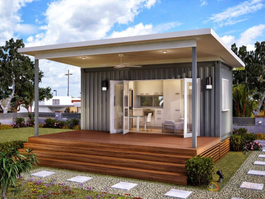 10 prefab shipping container homes from 24k off grid world for Modular granny flat california