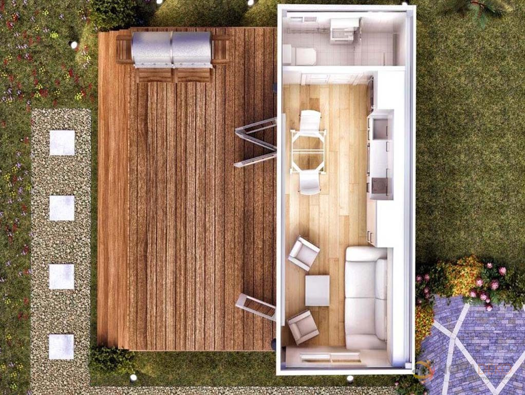 Conex house plans container homes beautiful shipping for Modular granny flat california