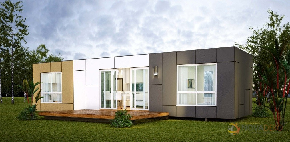10 prefab shipping container homes from 24k off grid world. Black Bedroom Furniture Sets. Home Design Ideas
