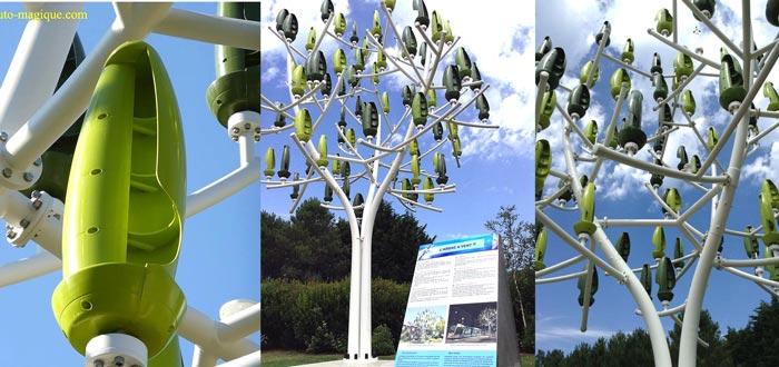 new wind turbine looks like a tree. Black Bedroom Furniture Sets. Home Design Ideas