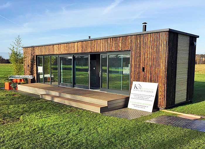 ireland shipping container house