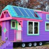 Colorful Solar Powered 'Ravenlore' Tiny House is Built to be Off Grid