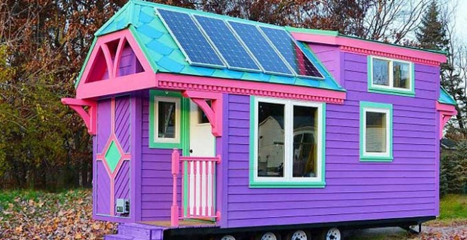 Colorful Ravenlore Tiny House