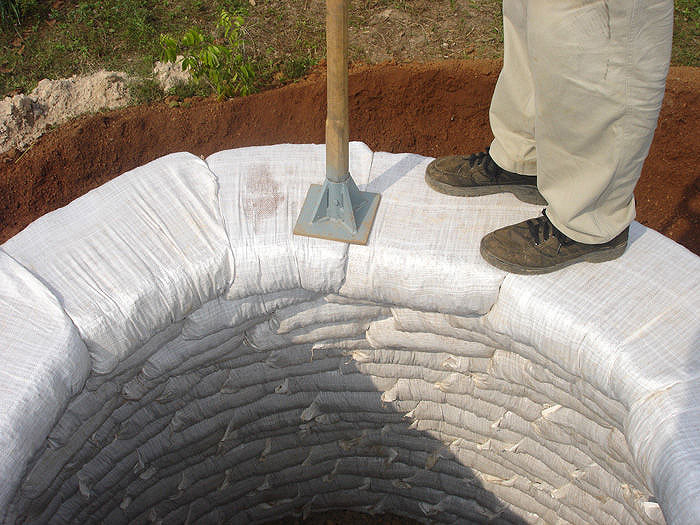 How To Build An Earthbag Dome For 300