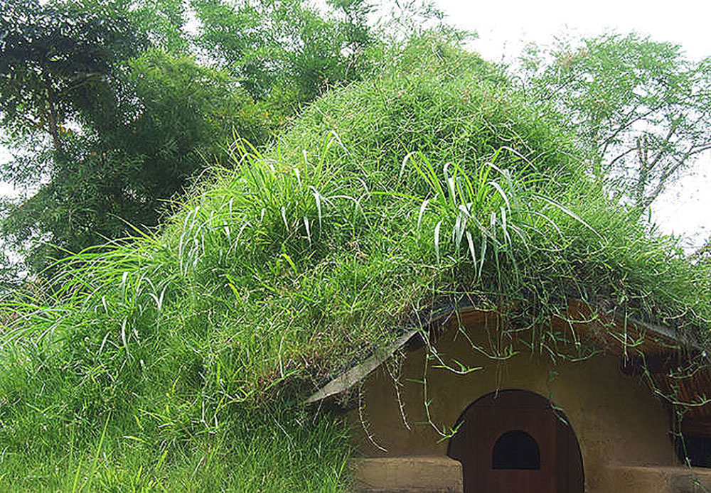 How to build an earthbag dome home