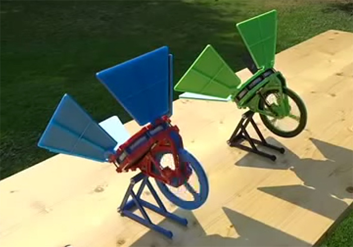 World S First 3d Printed Solar Powered Stirling Engine