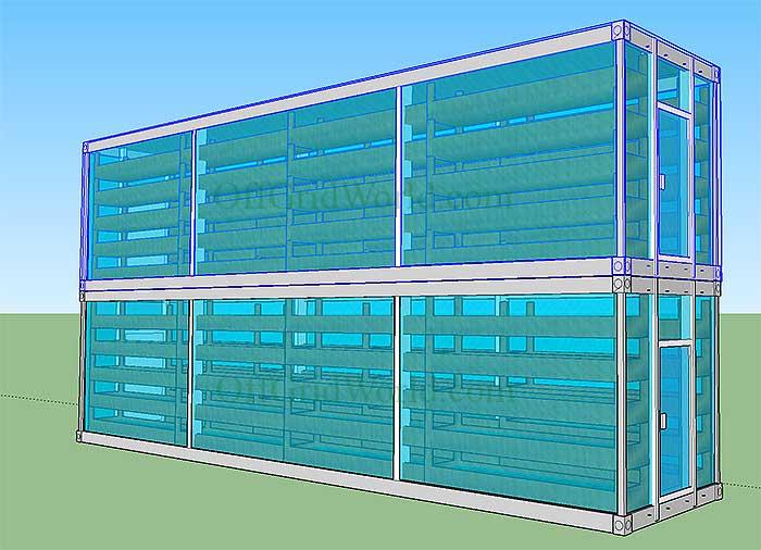 Solar Powered Vertical Garden A Stackable Amp Portable