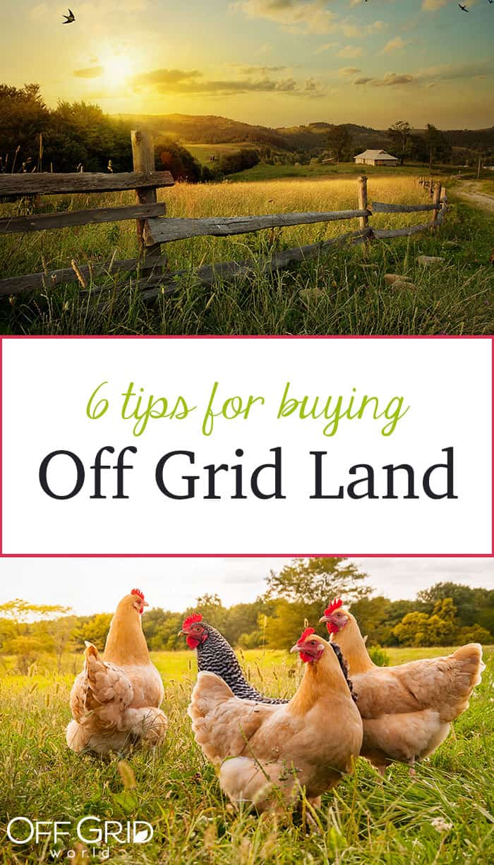 Tips for buying off grid land