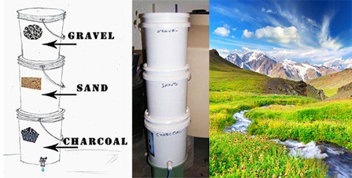 3-bucket-bio-water-filter-gravel