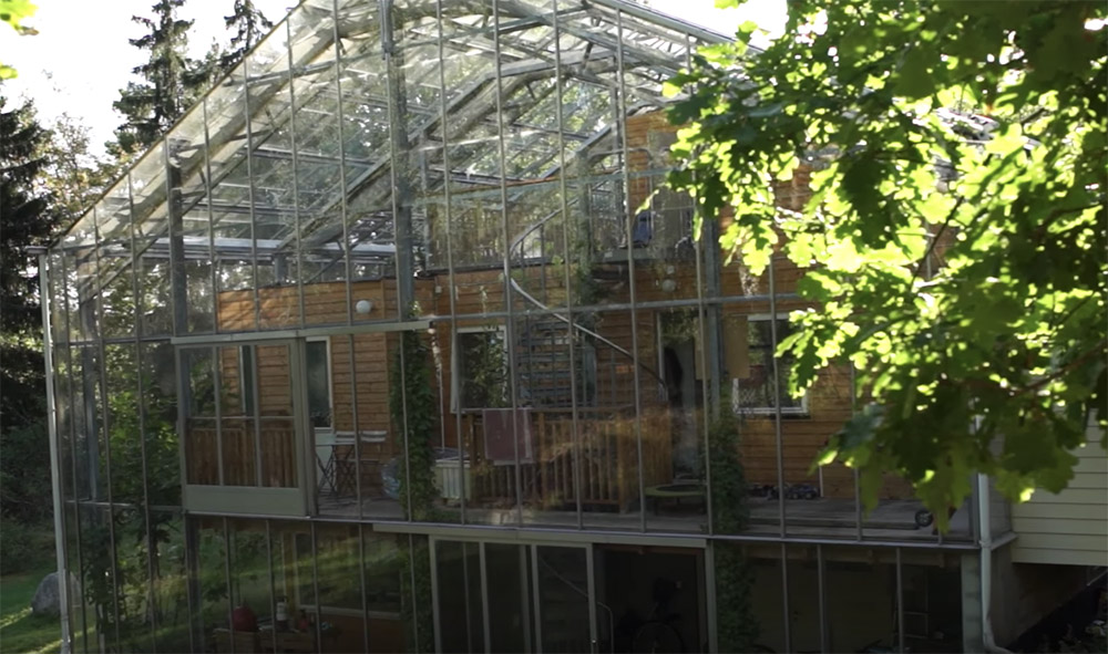 Couple Builds Greenhouse Around Home To Grow Food And Keep