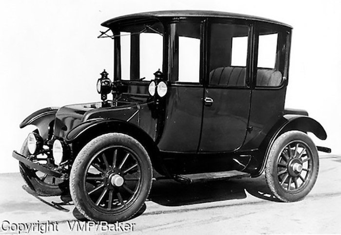 1915, Baker Electric Car, owned by Otis Elevator