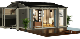 shipping container expandable