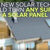 This Thin Flexible Material Turns Any Surface Into a Solar Panel