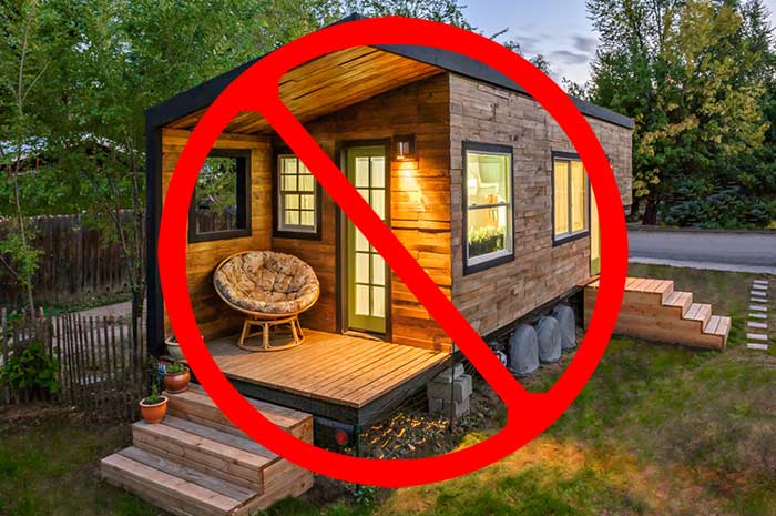 False hud is not making it illegal to live in your rv for Building a permanent tiny house