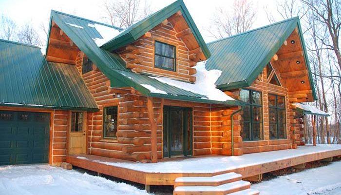 Beautiful Log Cabin for $61k