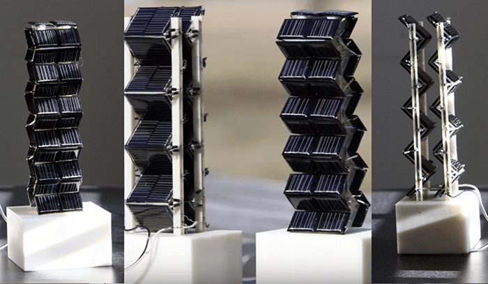 3d solar panel towers mit