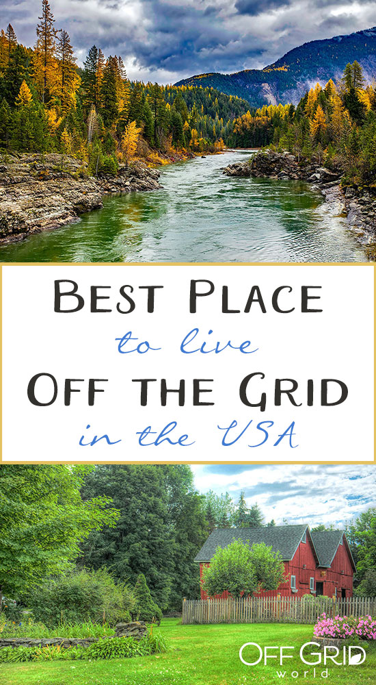 Best place to live off grid