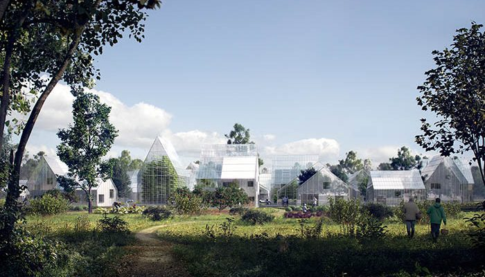 100% Self Sufficient Off Grid Village Grows its Own Food & Produces its Own Power
