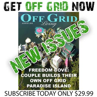Off Grid Living Magazine - Subscribe