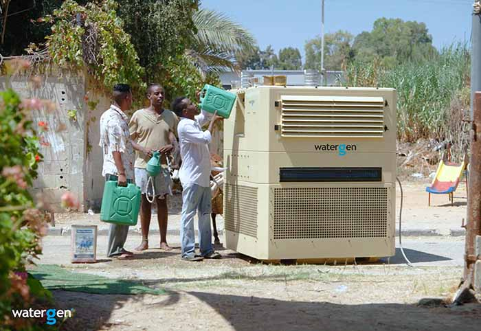 "NEW Water Generator Produces 825 Gallons of Water From ""Thin Air"" Per Day"