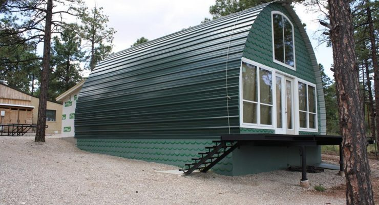 Prefab Metal Cabins For 10k and Less Make a Great Off Grid Option