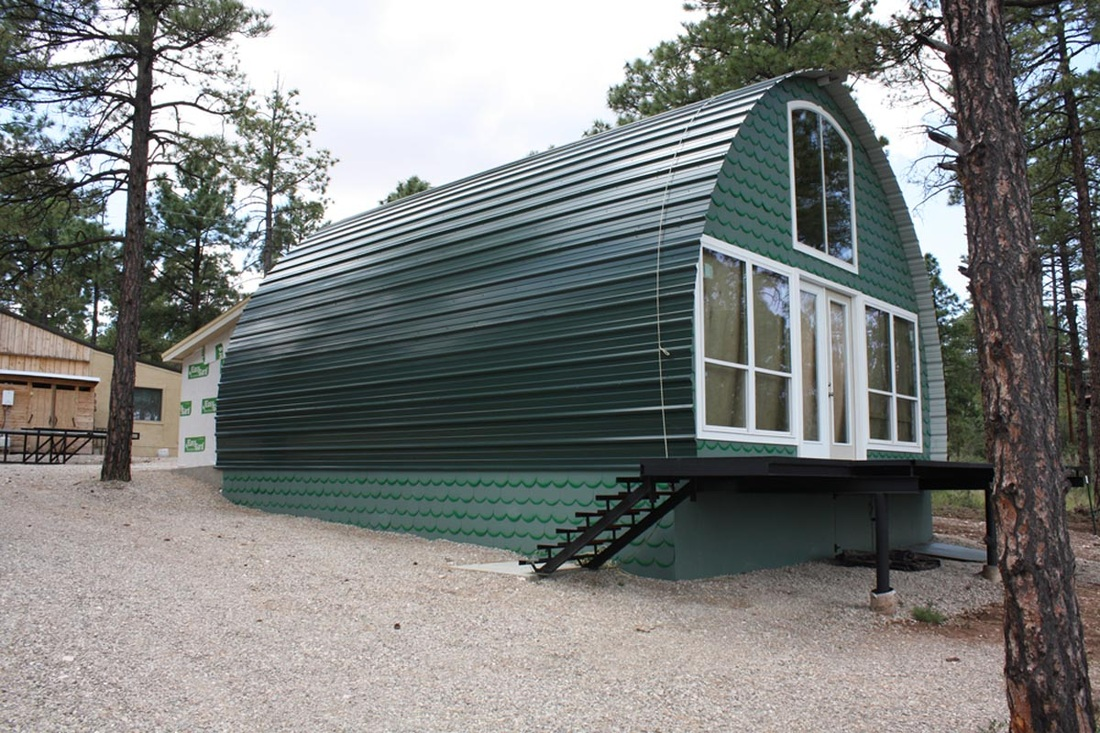 Prefab Metal Cabins For 10k And Less Make A Great Off..
