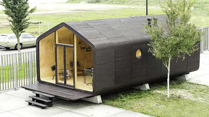 Modular Cardboard Buildings That Can Last Up To 100 Years