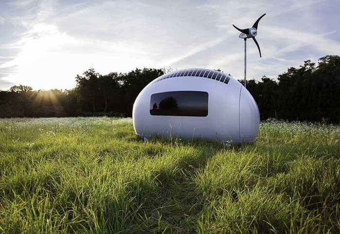 The Ecocapsule Is Tiny, But Feature Packed!