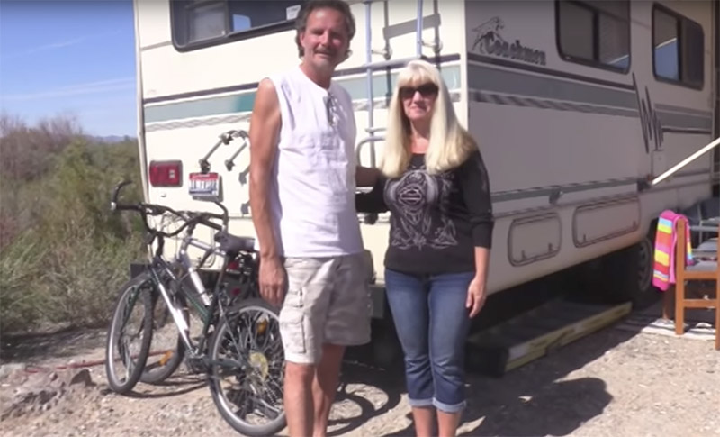 Seriously Off Grid on a Shoestring: Couple Lives Off Grid on Their Own Terms