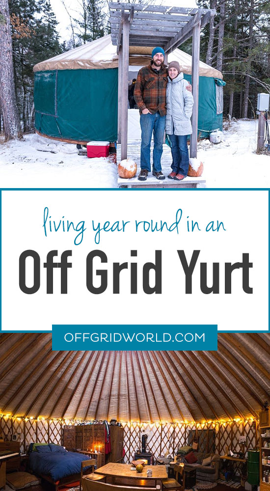 Off grid yurt