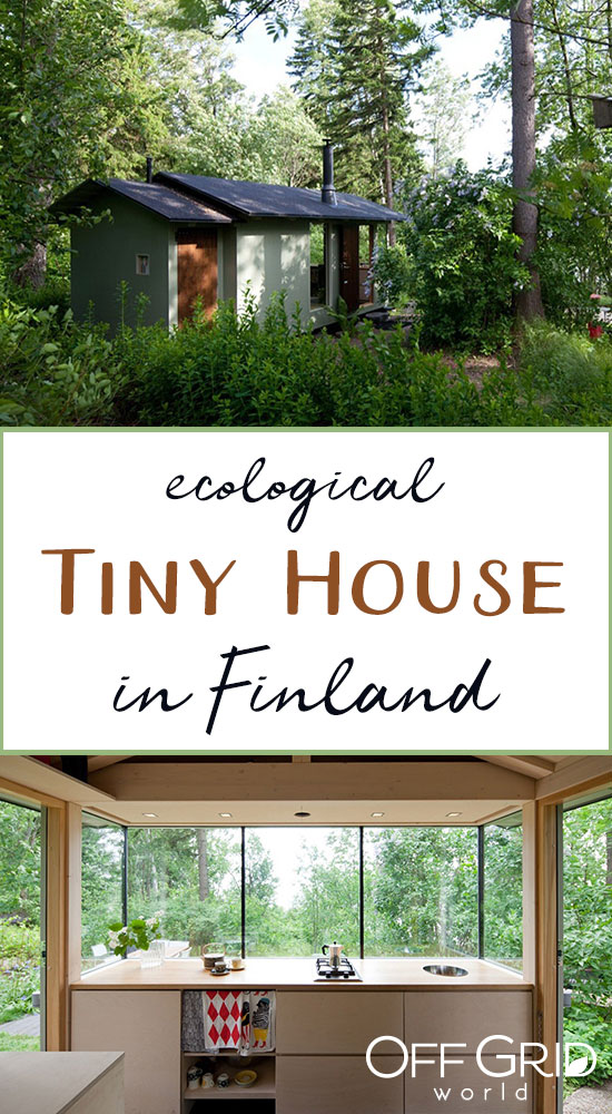 Eco tiny house in Finland
