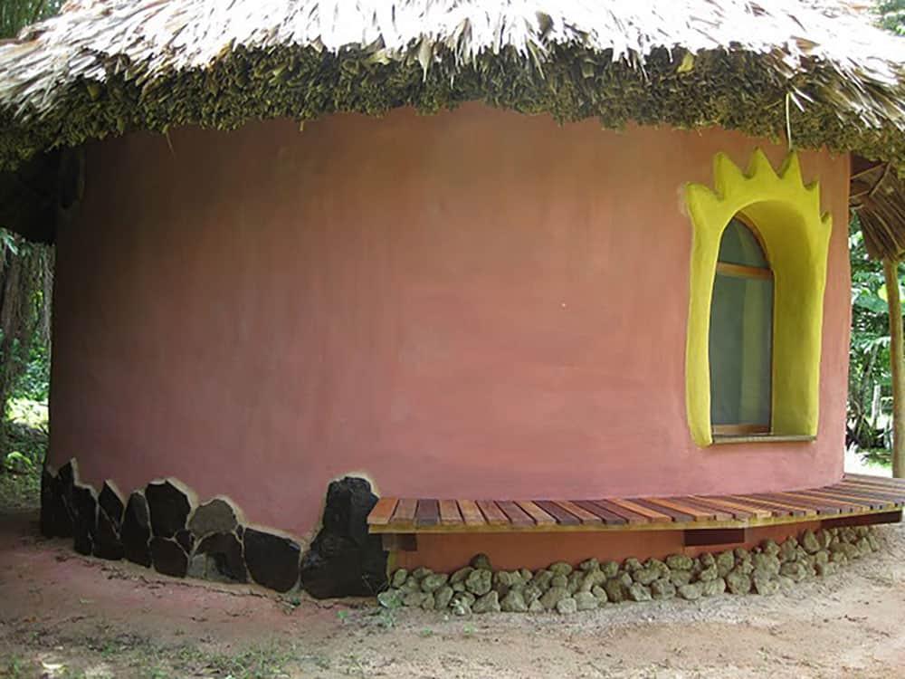 Earthbag shed