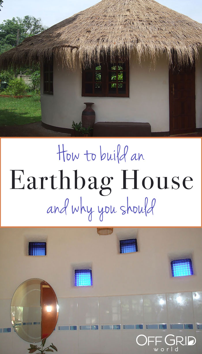 How to build an earthbag house