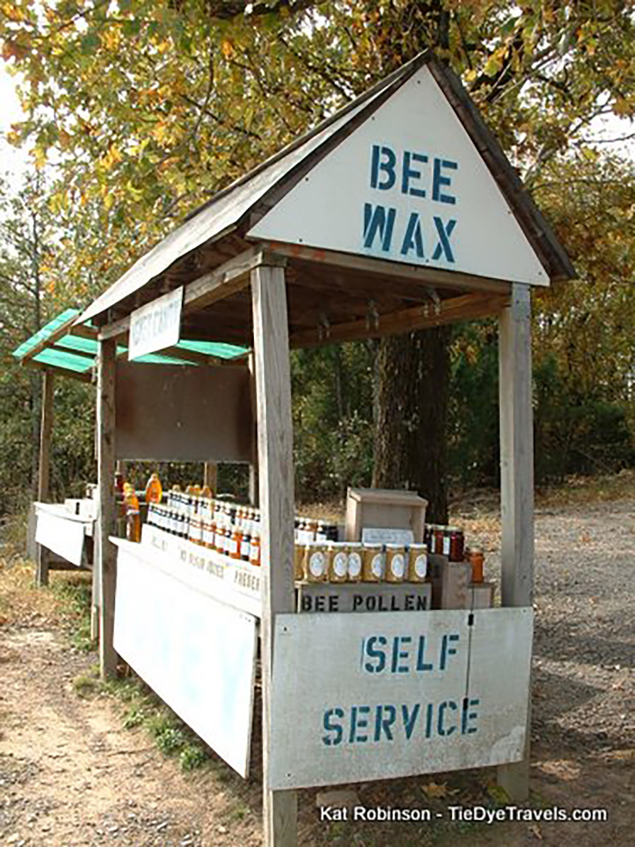 roadside honey stand