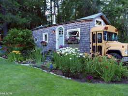 school bus tiny house