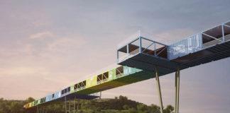 Shipping container bridge