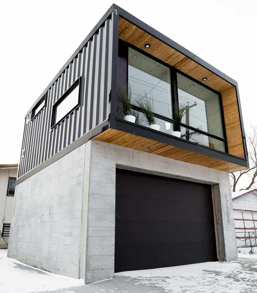 Container home in Canada