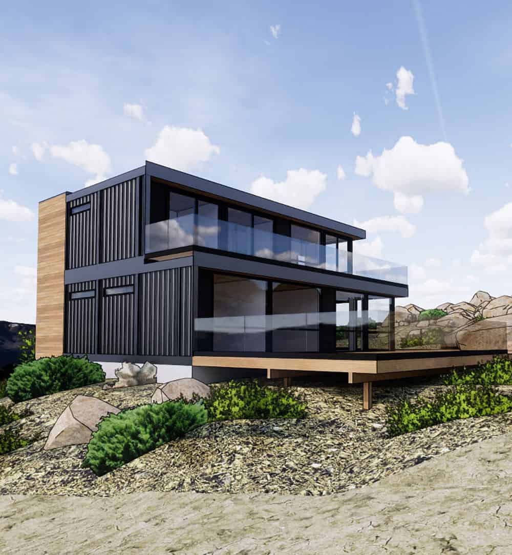 Honomobo shipping container home