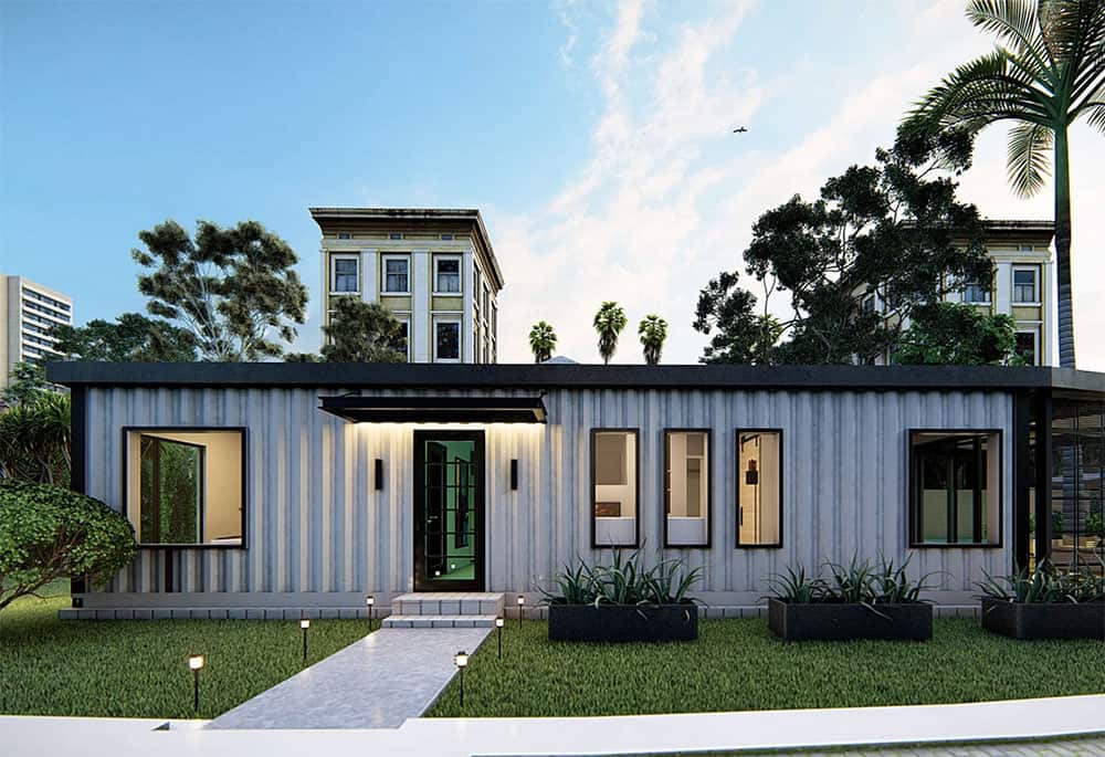 Kubed container home