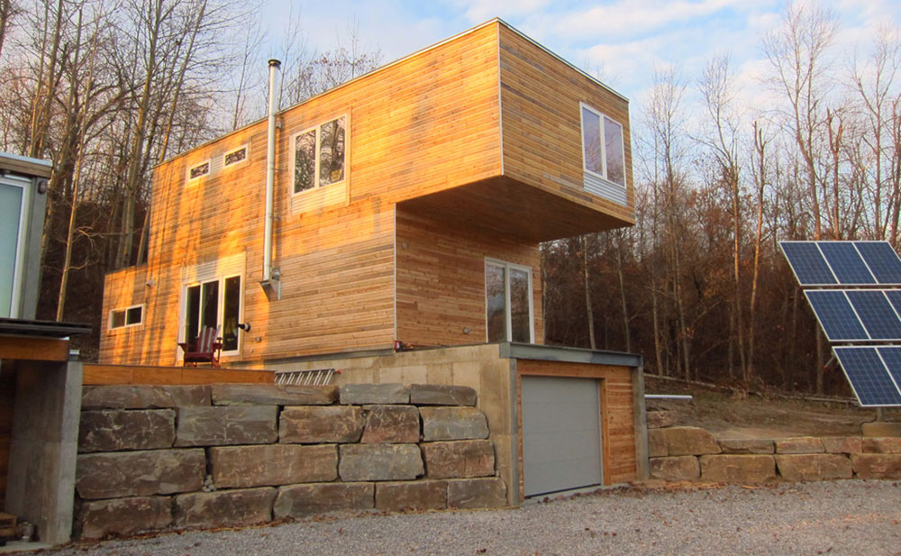 Luxury container home for sale