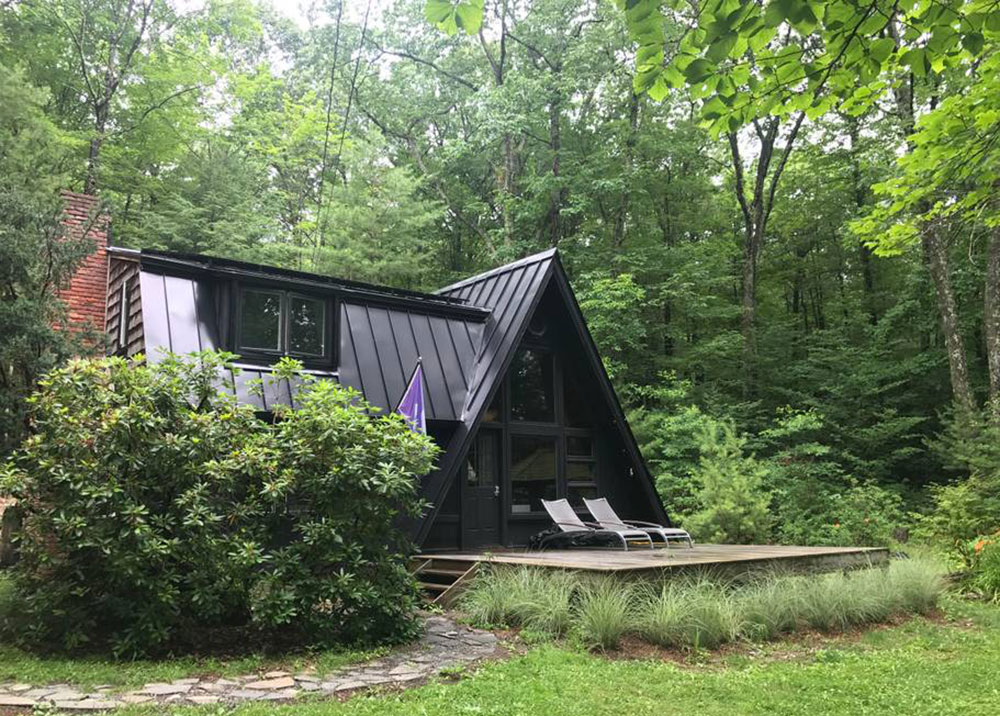 Charming Off Grid A-Frame Cabin In The Catskills