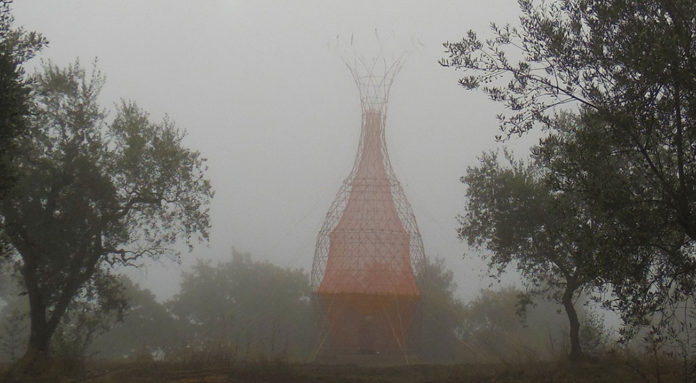 Warka Water collects water from air