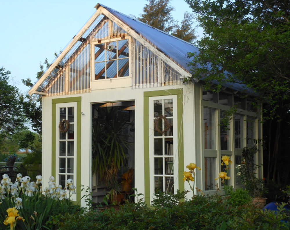 15 Fabulous Greenhouses Made From Old Windows