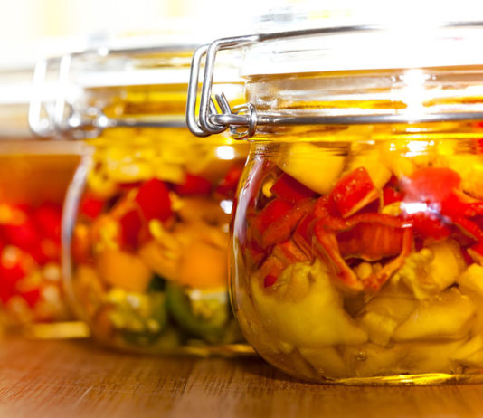 Storage for homegrown veggies