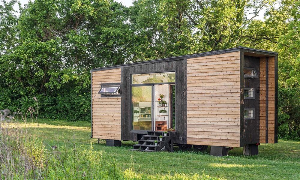 The alpha tiny house