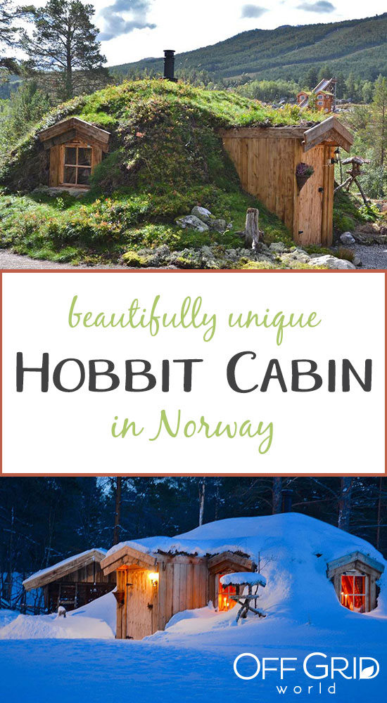 Tiny Hobbit cabin