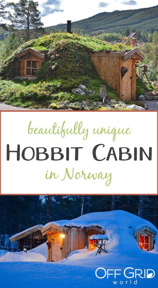 Tiny Hobbit cabin