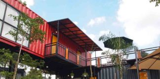Insulating a shipping container