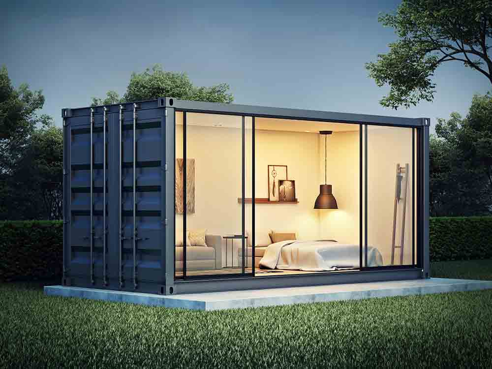 Container home concept
